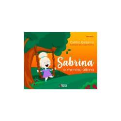 Sabrina, a menina albina