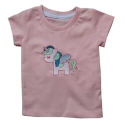 Camiseta Unicórnio | Salmão...