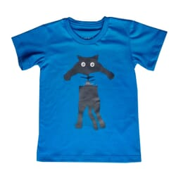 Camiseta Gato| Azul Royal...