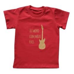 Camiseta Legião| Vermelho Manga Curta