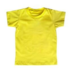 Camiseta Básica | Amarela...