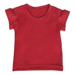 Camiseta Básica | Vermelha...