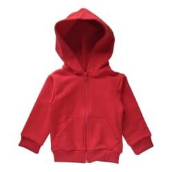 Jaqueta Moletom |Bebê Vermelho