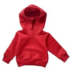 Blusa Moletom |Bebê Vermelho