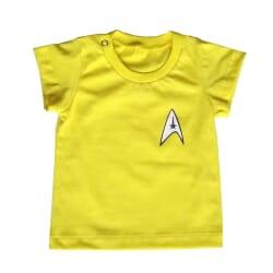 Camiseta Star Trek| Amarelo...