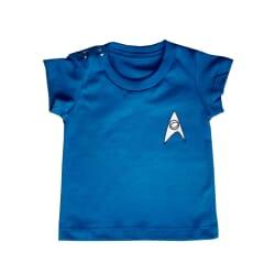 Camiseta Star Trek| Azul...