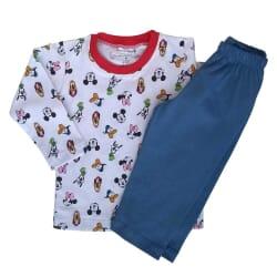 Pijama Turma Mickey | Manga...